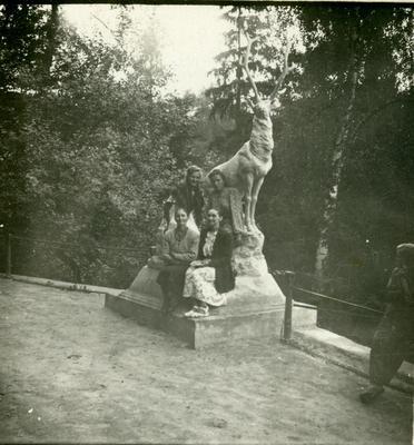 Portrait with The Park Sculpture