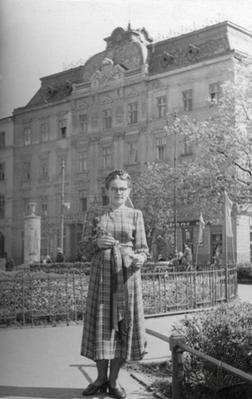 Portrait of Woman at Svobody Avenue
