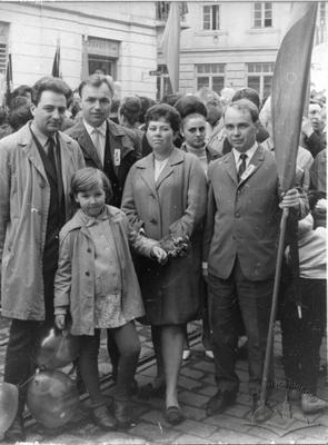 Participants of 1st May Demonstration