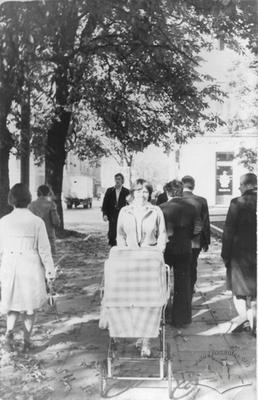 Passers at Svobody Avenue