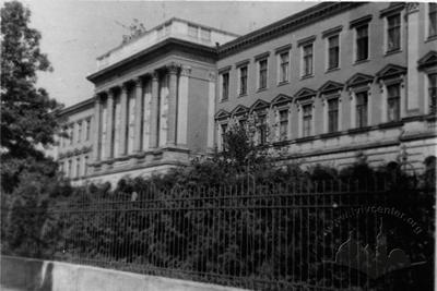 Building of Lviv Polytechnic