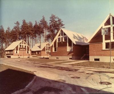 Cottages in Riga quarter