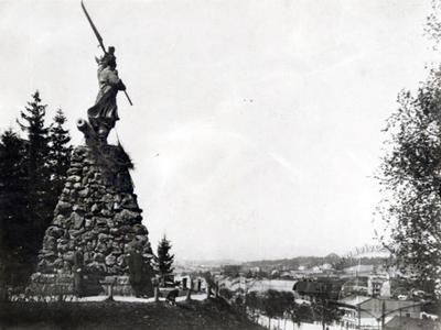 Monument to Bartosz Glowacki in Lychakiv