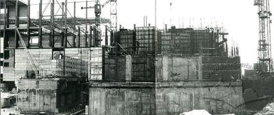 Building Chornobyl NPP