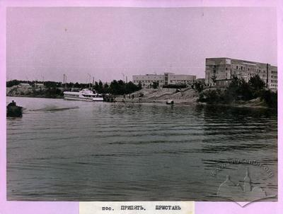 """Landing stage """"Prypyat'"""""""