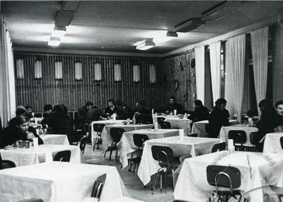 Dining hall interior