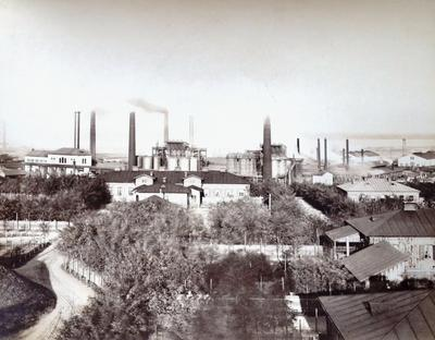 Dniprivskyi factory view