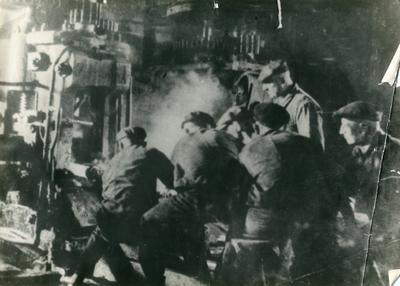 Employees of the Lower Dnieper Pipe Rolling Plant
