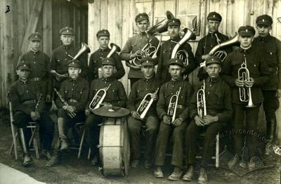 """The musicians of the """"Lug"""" society from Myklashiv"""