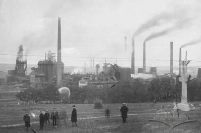 Вид на Краматорський металургійний завод