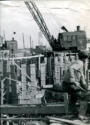 Construction on the Zaporizhstal'