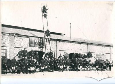 The Alchevsk Plant Fire Brigade