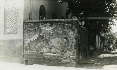 The Fragment of Building of Old Cemetery Synagogue