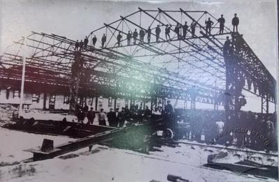 Будівництво трубного цеху