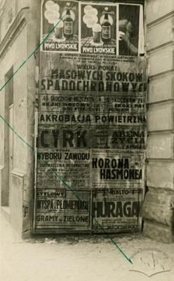 Advertisement at Furmanska Street