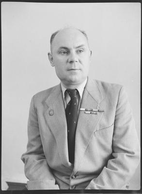 Лауреат Сталінської премії Боровков
