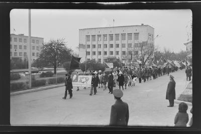Демонстрація 7 листопада в м. Красноармійськ