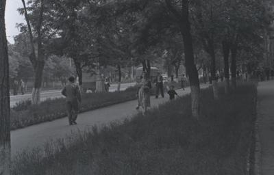 Місто Жданов. Вулиці Артема та Донбаська.