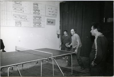 Київавтобуспром, першість інституту з настільного тенісу, 12.12.1986